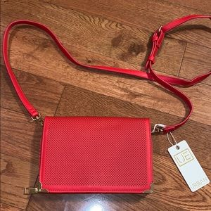 Urban Expressions Red Marlow crossbody purse bag